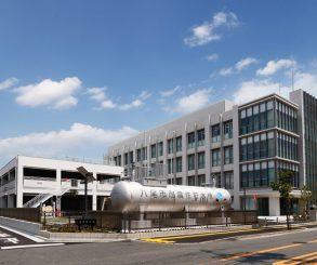 八尾水道庁舎1